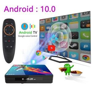 Image 2 - a95x r3 rk3318 smart tv box android 10.0 tv box 4K Quad core set top box mini media player 4gb 32gb 64gb 2gb16gb