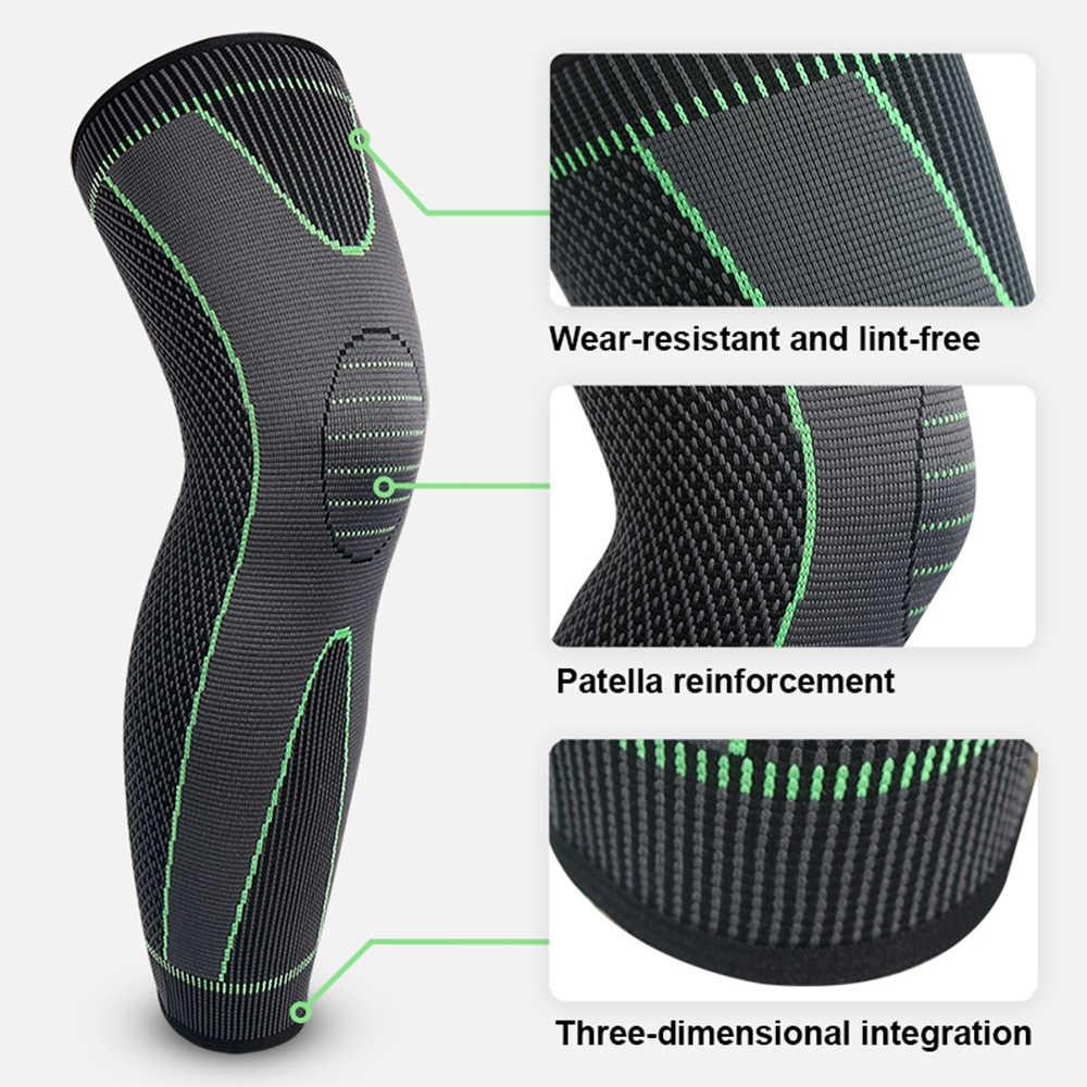 Yeni profesyonel menisküs yırtılma artrit spor Patella dizlik sıkıştırma manşonu elastik diz sarar jel yay desteği