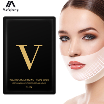 V Line Face Lifting Mask for Double Chin Slimming Shape Tighten Jawline Moisture Skin Wrinkle Removal Strap Tool Women Treatment 1