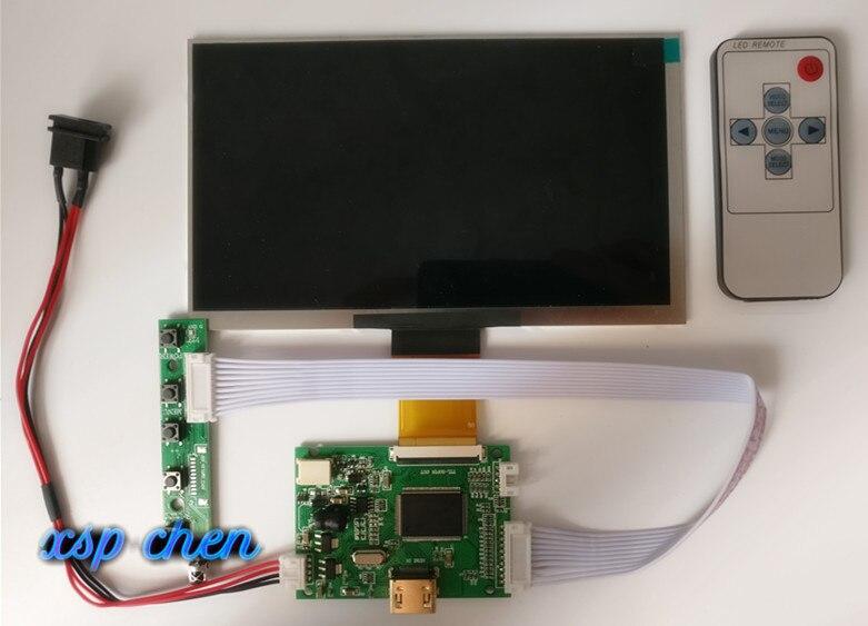7 zoll 1024*600 HD LCD Display Screen Hohe Auflösung Monitor Fahrer Control Board HDMI Für Android Windows Raspberry pi