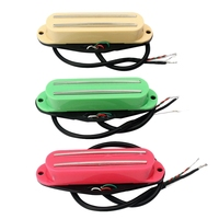 Super sell 3Pcs Dual Rail Humbucker Humbucking Pickups For Fender Stratocaster St Strat For Gibson Les Paul Electric Guitar Part