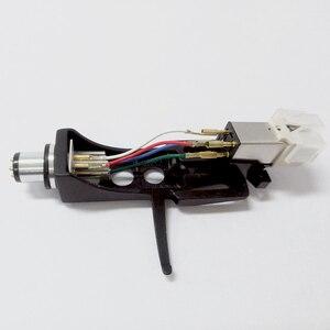 Image 5 - 1 pz stilo a cartuccia magnetica con giradischi Headshell contatti a 4 Pin per giradischi fonografo grammofono LP ago in vinile