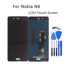 Tested For Nokia 8 N8 LCD Display Touch Screen Digitizer Assembly For Nokia8 TA-1004 TA-1012 TA-1052 Phone Parts With Free Tools