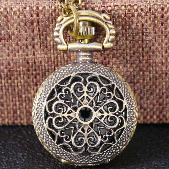Relógio de bolso retro vintage quartzo colar escultura pingente corrente relógio de bolso relógio das mulheres dos homens colar relógio reloj de bolsillo