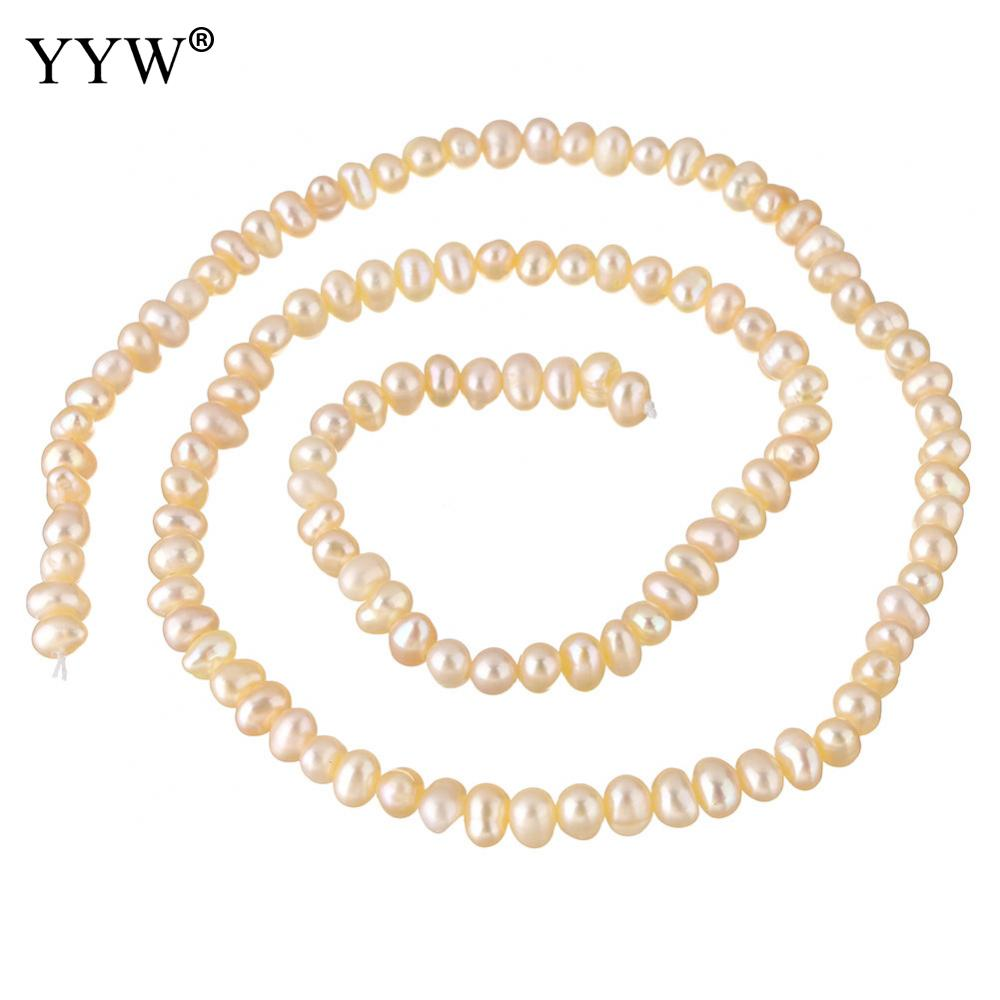 7mm Oyster Dusty Pink Baroque Nugget Freshwater Pearls Beads A Jewellery Making