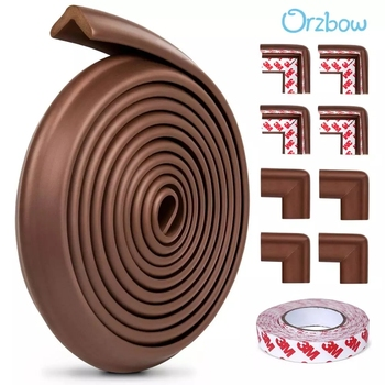 Orzbow 5M Baby Safety Corner Protectors Home Protection For Children Proofing Edge Cushion Kids Furniture Bumper - discount item  44% OFF Safety