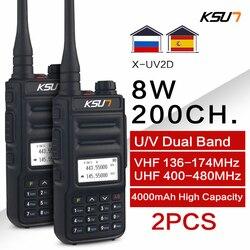 KSUN – walkie-talkie portatif à double bande, communicateur Radio Amateur HF émetteur-récepteur Amateur pratique