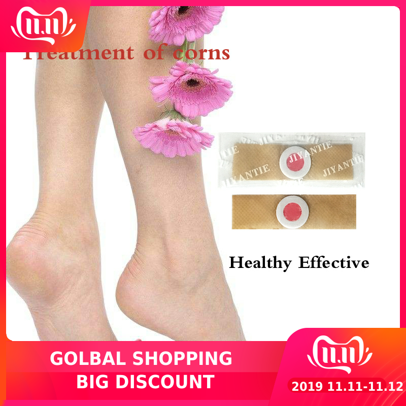 42 Pcs Foot Care Medical Plaster Foot Corn Removal Calluses Plantar Warts Thorn Plaster Health Care For Relieving Pain