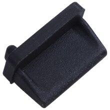 Горячая 3C-10 шт силиконовый usb-порт штепсельная вилка Пылезащитная пробка Защитная крышка Черный