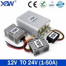 Conversor 12v da fonte de alimentação a 24v 1a 3a 5a 8a 10a 12a 15a 20a 25a 30a 40a 50a impulsiona o regulador de tensão dc para o carro para o diodo emissor de luz