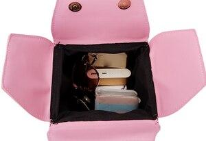 Image 5 - ENJOININ Chinese Takeout Box Purse Pu Leather Women Handbag Novelty Fashion Crossbody Bag Shoulder Chain Bag for Girl handbag