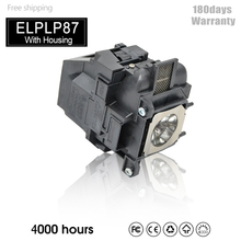 Lampe de Projecteur De rechange ELPLP87 Pour BrightLink 536Wi,EB 520,EB 525W,EB 530,EB 535W,EB 536Wi,PowerLite 520,V13H010L87
