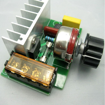 4000W High Power Silicon Control Voltage Regulator Aiming Adjust Speed Thermoregulation L10
