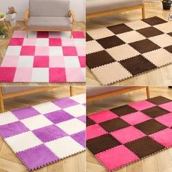 10 pièces/1 ensemble 30*30cm mousse motif tapis de jeu pour bébé enfants Puzzle jouet Yoga lettre ramper tapis tapis tapis jouets