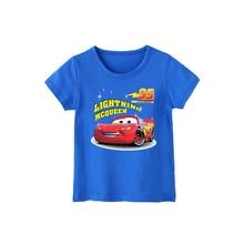 T-Shirt Children Girls Clothes Dumbo Tops Short-Sleeves Baby Boys Kids Cotton Summer