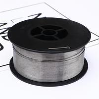 Gasless Carbon Staal Mig Lasdraad Reel Spool Roll Gevulde Geen Gas 0.8Mm 1Kg (Zilver)