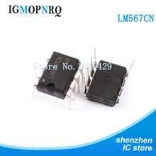 10 teile/los DIP LM567 Interface-Telecom/stimme decoder LM567CN DIP-8 neue