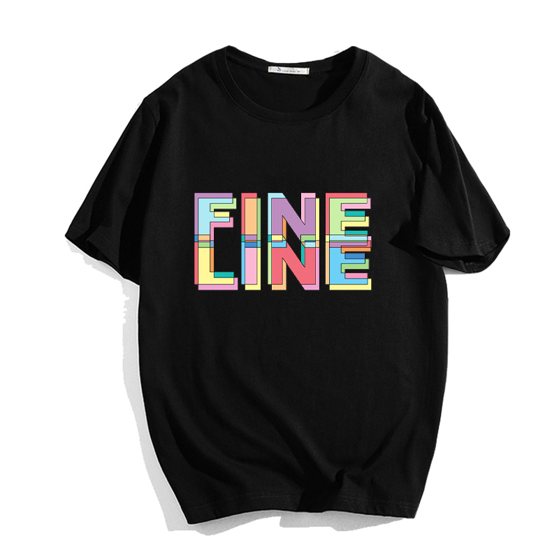 Breathable <font><b>Aesthetic</b></font> Tees Shirt Hipster Streetwear Funny Hip Hop Loose Novelty Women <font><b>Tshirt</b></font> Harry Styles 90s <font><b>Graphic</b></font> Top Tees image