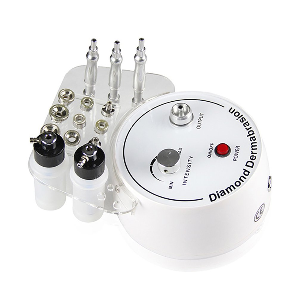 Diamond Microdermabrasion Dermabrasion Machine Water Spray Exfoliation Beauty Machine Removal Wrinkle Facial Peeling Tool