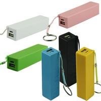 Caja de almacenamiento portátil para teléfono xiaomi y samsung, cargador de batería externo USB 1X 18650