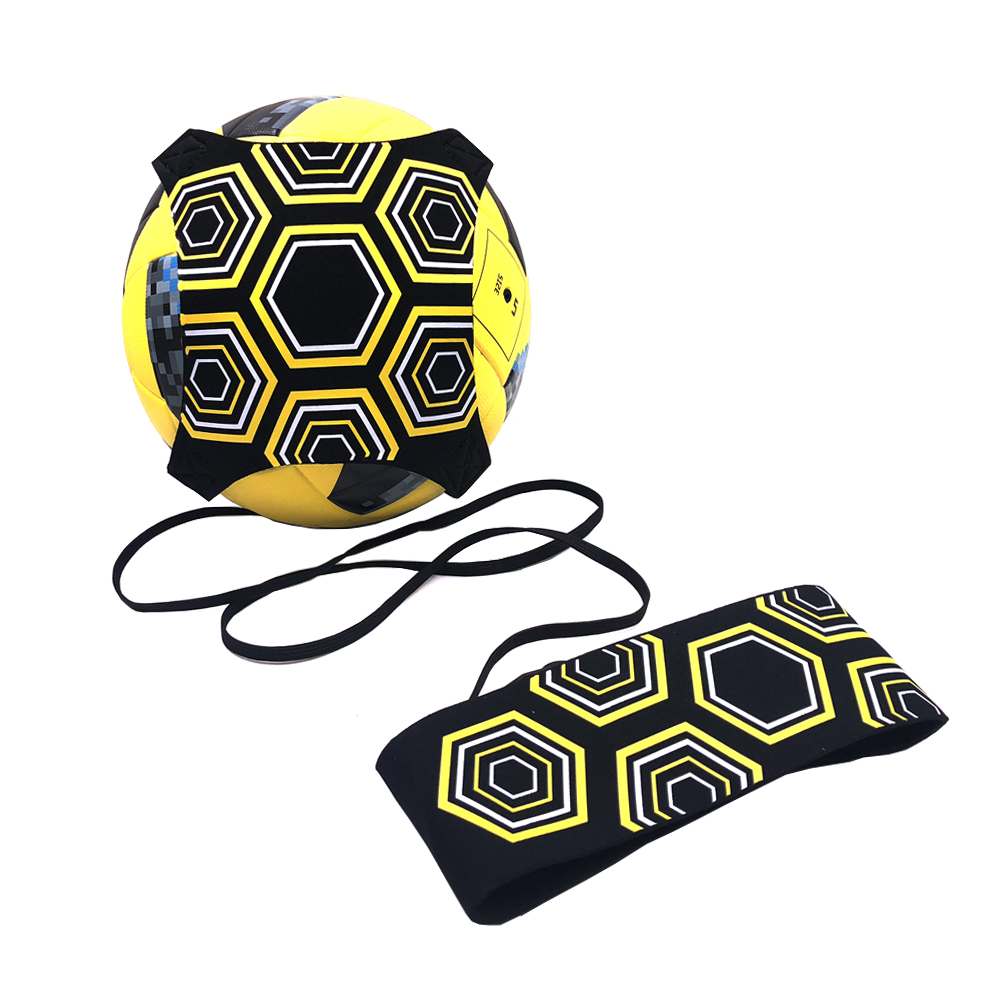 H Quality Soccer Ball Solo Kick Belt Trainer Training Equipment Trainer Football Kinetic Elastic Cord Stretches DropShipping
