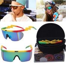 Neff marca design quadrado óculos de sol masculino retro condução óculos de sol para homem espelho moda feminina uv400 oculos
