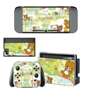 Image 1 - Animal Rilakkuma Nintendo Switch Skin Sticker NintendoSwitch stickers skins for Nintend Switch Console and Joy Con Controller