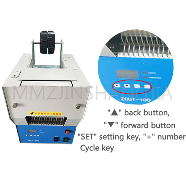 Фото машина для резки ленты 220 в/180 вт устройство без маркировки