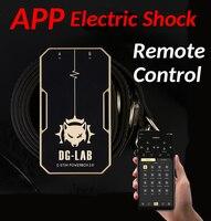 SM Electric Shock anal butt APP Remote Control Electric Shock Tens Electro anal butt plug Sex Electrical Stimulator sex shop