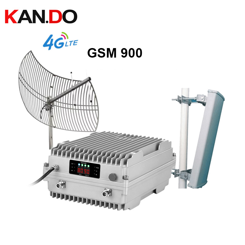 500meters Cover Signal Repeater Set For Mountain Area Farm Forest Use Signal Booster GSM900mhz Repeater 5w Big Power
