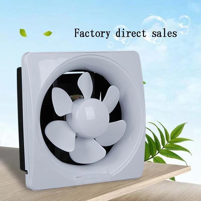 6 8 10 12inch waterproof mute bathroom extractor exhaust fan ventilating strong fan for kitchen toilet window ventilation fans