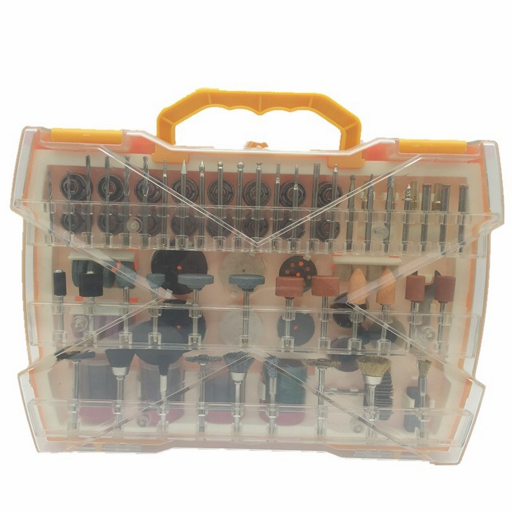 Tools : 302pcs Electric Grinder Rotary Tool Accessory Bit Set for Dremel Grinding Sanding Polishing Disc Wheel Tip Cutter Drill Disc