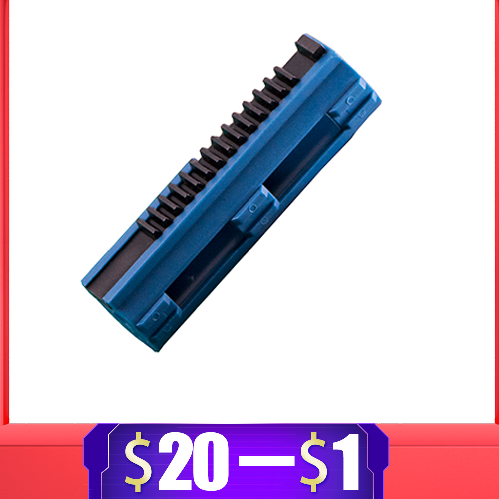 Reinforced Carbon Piston Plastic Full Steel 14 Ladder Tooth For Airsoft AEG Gel Blaster M4 JinMing9 BD556 Paintball Accessories