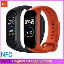 Originale Xiaomi Mi Banda 4 Frequenza Cardiaca Fitness Touch Screen a Colori Miband 4 Braccialetto Intelligente 135mAh Bluetooth 5.0 Wristband musica