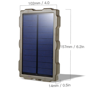 Image 5 - FULL Outdoor Hunting Camera Battery Solar Panel Power Charger External Panel Power for Wild Camera Photo Traps H801 H885 H9 H3 H