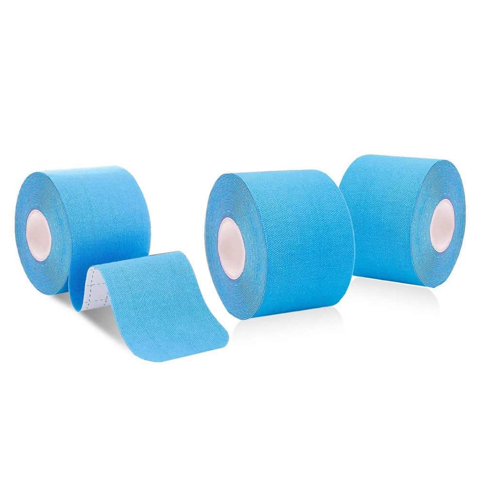 Breedte 2.5/3.8/5 Cm Katoen Elastische Sport Taping Knie Spier Herstel Kinesiologie Tape Therapeutische Strapping Lijm Bandage