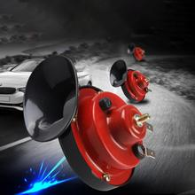 Automobile Modified Snail Horn 12v Generic Auto Parts Abs Waterproof Motorcycle Horn Whistle High Pitched Horn