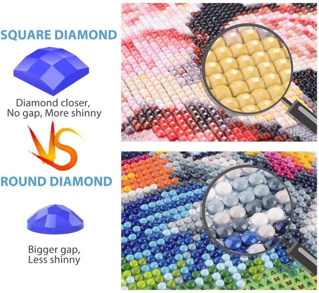 Фото набор для рисования алмазами 5d взрослых и детей полное сверление