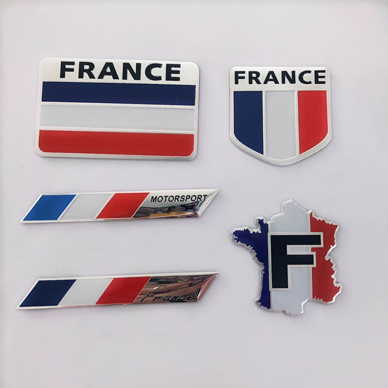 Купить с кэшбэком Country style Car stickers France racing car cover occlusion scratch sticker for Renault Peugeot Citroen DS PGO auto accessories