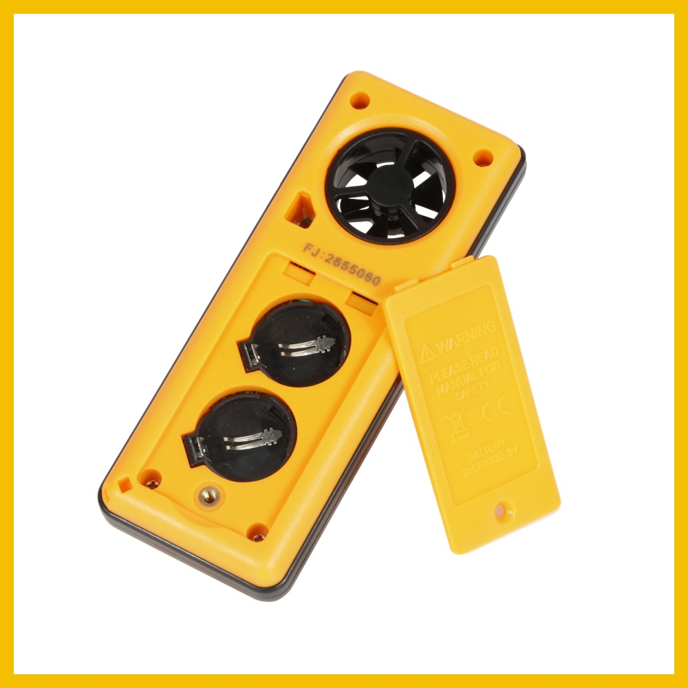 Portable RZ GM816 Wind Speed Meter Used as Anemometer with LCD Display Useful for Windsurfing 42