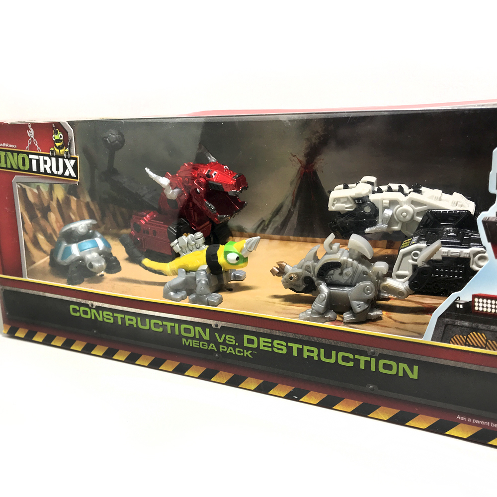 5pcs/set Dinotrux Dinosaur Truck Removable Dinosaur Toy Car Mini Models New Children's Gifts Toys Dinosaur Models Mini Child Toy