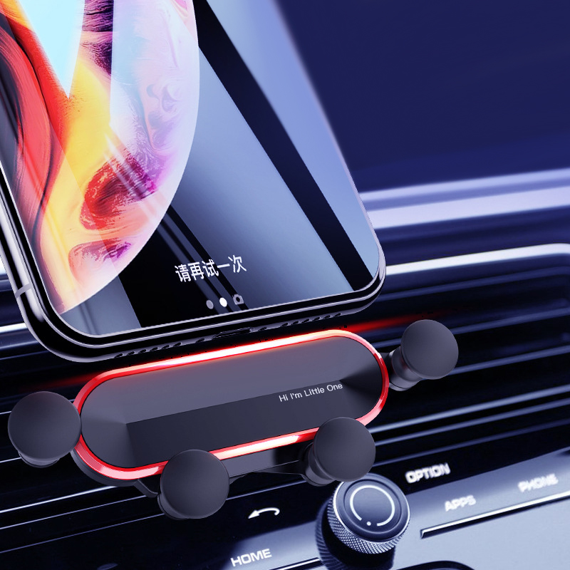 Gravity Car Phone Holder For Phone In Car Mount Stand Mobile Phone Car Holder For IPhone X XS 11 8 7 Support Smartphone Voiture