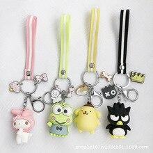 2020 popular innovative cartoon cute doll key chains pendant Student bag pendant car keychain pendant direct selling