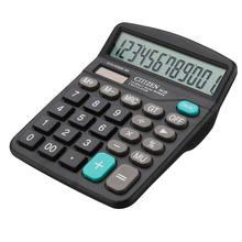 Calculadora de mesa de bateria solar basic 12 dígitos grande exibição de negócios de escritório