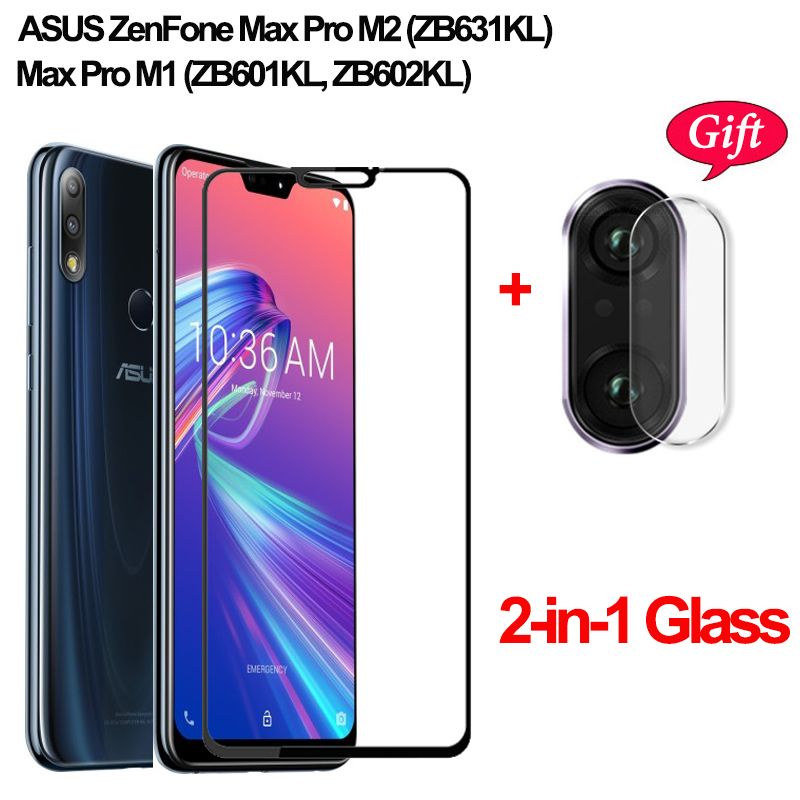 Camera Tempered <font><b>Glass</b></font> for ASUS Zenfone Max Pro M2 ZB631KL Pro M1 ZB602KL Screen Protector For Asus 631KL <font><b>ZB</b></font> 631KL <font><b>602KL</b></font> m2 <font><b>Glass</b></font> image