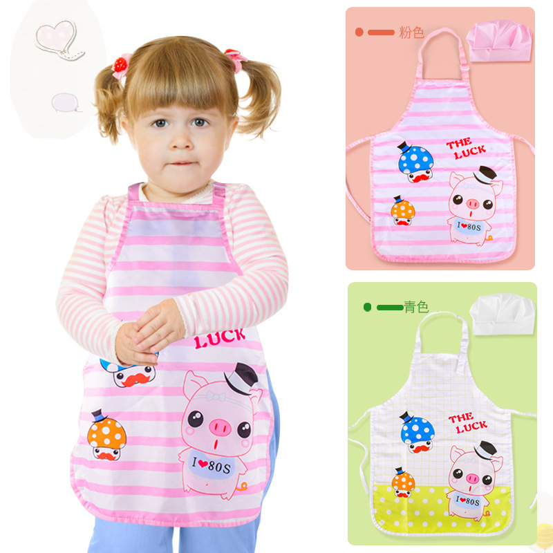 Children Kitchen Chef Play Professional Experience Loaded Costume Kindergarten Play House Chef Performance Wear
