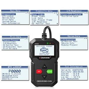 Image 2 - KONNWEI escáner de diagnóstico de coche KW590 OBD2, herramienta de diagnóstico automático para OBD automático 2, mejor que Elm327, Wifi