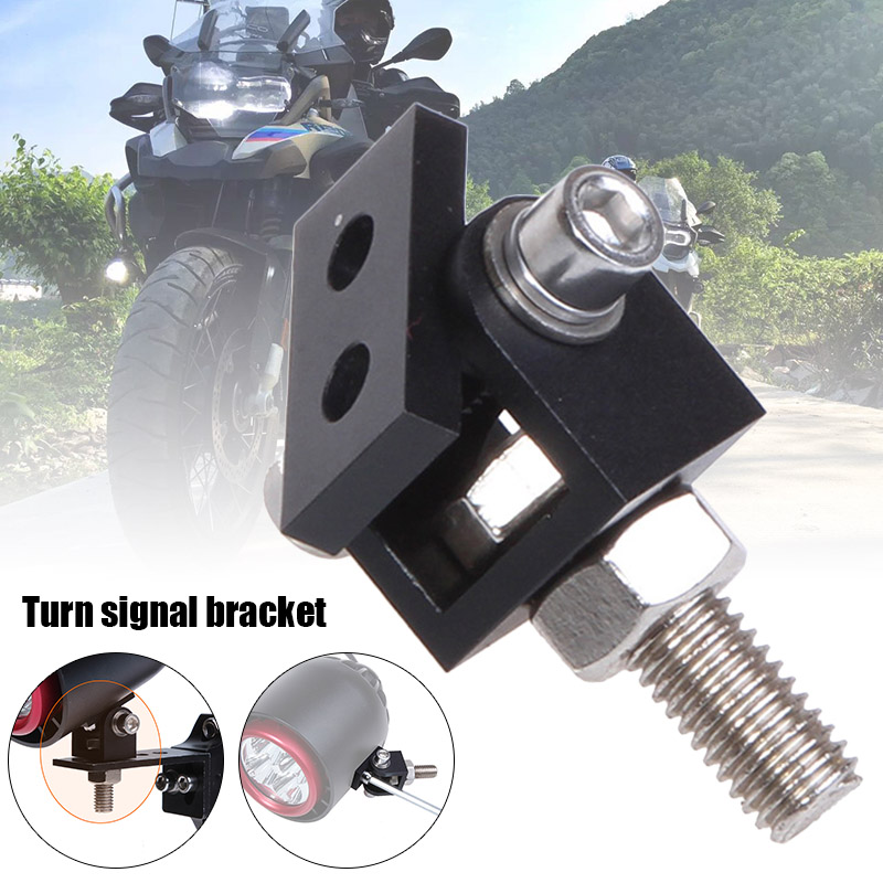 Motorcycle LED Headlight Expansion Mounting Bracket Durable Lamp Holder Clamp NIN668