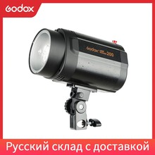 Godox 200W Monolight Fotografia Photo Studio Strobe Flash Light Testa (Mini Studio Flash)
