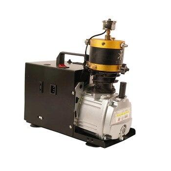 220V/110V 4500psi PCP High Pressure Air Pump Compressor Adjustable Auto Stop Compressor For Pneumatic Rifle Air Tank pneumatic air compressor kalibr masterkb 1100m with set